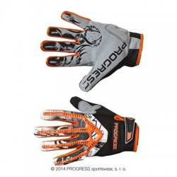 Cyklo rukavice Progress Freeride Gloves oranžové